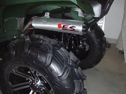 grizzly big gun eco exhaust yamaha grizzly atv forum