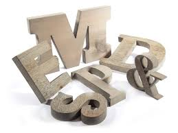 Barn Wood Letters Weathered Wood Letter Reclaimed Wood Sign Woodland Manufacturing