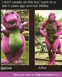 Barney The Dinosaur Meme - barney the dinosaur lifts humor memes and funny images