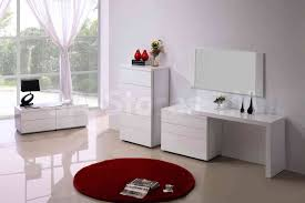Glass Mirrored Bedroom Set Furniture Glossy White Bedroom Furniture Eo Furniture