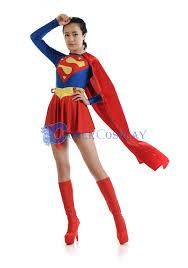 Spandex Halloween Costumes Supergirl Halloween Costumes Women Cosercosplay