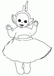 teletubby pictures coloring