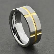 Tungsten Comfort Fit Wedding Bands Tungsten Carbide Ring Comfort Fit Wedding Band Men Silver Gold For