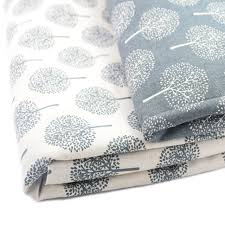 Diy Sofa Cover by 50 150cm Printed Cotton Linen Fabric For Patchwork Quilting Sewing