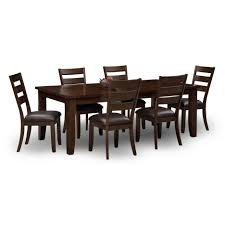 dining tables 7 piece dining set bar sets furniture dining room