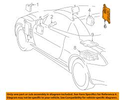 auto parts for lexus sc430 lexus toyota oem sc430 electrical fuse relay junction block right