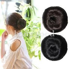 bun scrunchie women clip on updo chignon scrunchie bun hairpiece us 6 88