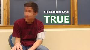 Lie Detector Meme - time traveller from 2030 passes lie detector test daily mail online
