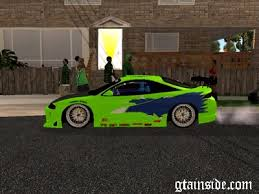 mitsubishi eclipse fast and furious gta san andreas fast furious mitsubishi eclipse sound mod