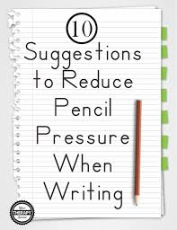 zaner bloser writing paper printable 10 suggestions to reduce pencil pressure when writing your 10 suggestions to reduce pencil pressure when writing your therapy source