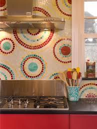 Best Tiled Backsplashes Images On Pinterest Backsplash Ideas - Colorful backsplash tiles