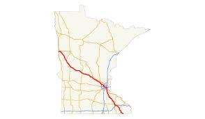Minnesota State Map by U S Route 52 In Minnesota Wikipedia