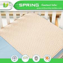 Waterproof Mattress Cover For Crib China Hypoallergenic Anti Bacterial Crib Mattress Pad Bamboo Terry