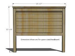 Headboard Designs Wood How To Build A Rustic Wood Headboard How Tos Diy