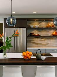 Mirror Backsplash In Kitchen by Interior Beautiful Kitchen Countertops And Backsplash