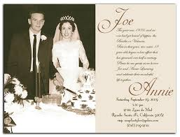 50th wedding anniversary invitations the best wedding picture