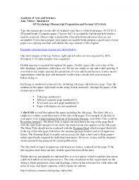 cover letter apa format sample essay apa format sample paper doc
