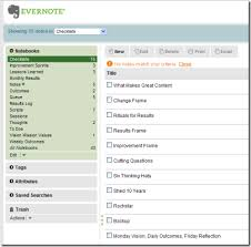 Templates Evernote by The Zen Of Results And Evernote J D Meier S