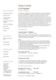 Stationary Engineer Resume Sample by Civil Engineering Cv Resume Template Http Jobresumesample Com