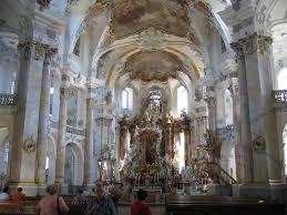 basilica of the fourteen helpers by balthasar neumann baroque