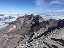 Mt Washington Trail Map by Mount Saint Helens Summit Via Ptarmigan Trail Washington