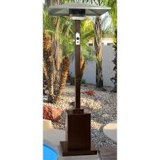 Bronze Patio Heater by Firefly Samos 15kw Gas Patio Heater Tall Garden Outdoor Real Flame
