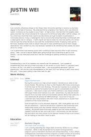 usher resume samples visualcv resume samples database