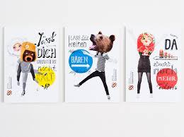 postkarten designen could be for a mascot spread eiga design drja plakat und