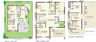 villa floor plans keerthi estates builders keerthi richmond villas floor plan