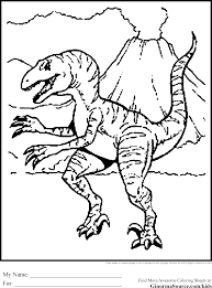 dinosaur coloring pages t rex ginormasource kids