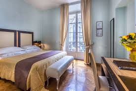 Single Hotel Bedroom Design Double And Single Room With View On Florence Hotel Duomo Florence