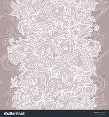 Background Images For Wedding Invitation Cards Vertical Seamless Lace Pattern Sweet Wave Stock Vector 144408853