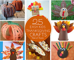 25 easy thanksgiving crafts modern
