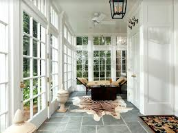 eclectic entryway with soapstone tile floors u0026 flush light