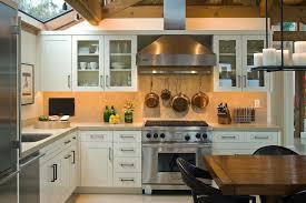 Kitchen Tv Ideas Limestone Countertops Convention San Francisco Beach Style Kitchen