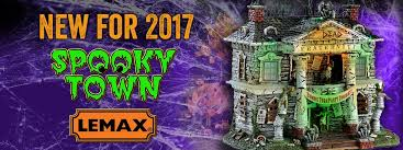 spooky town lemax reveals 2017 spooky town daily