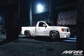 truck gmc lowered street performance truck gmc sierra by mrr u2014 carid com