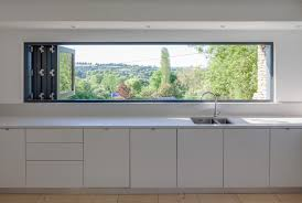 Blinds For Skylight Windows Contemporary Kitchen With Worktop - Contemporary kitchen sink