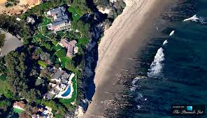 barbra streisand u0027s oceanfront estate at point dume in malibu