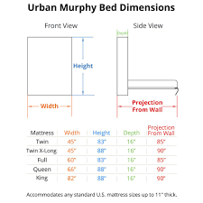 Queen Murphy Bed Plans Free Urban Murphy Bed Murphy Bed Kit Bredabeds