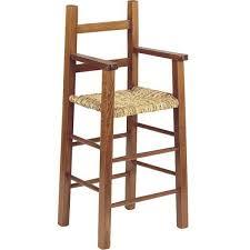 chaise bebe en bois chaise haute enfant bois foncé la vannerie d aujourd hui