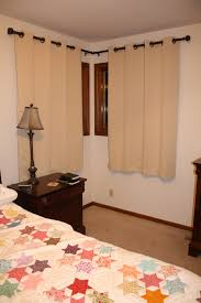 Basement Window Curtains - window treatments for short wide windows interesting affordable