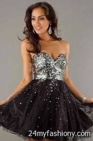 short black sparkly prom dress 2016 2017 b2b fashion