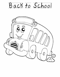 free printable back to coloring pages for preschool