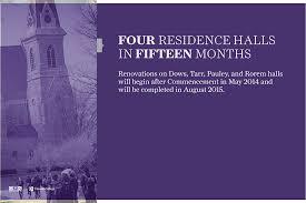 Cornell College renovating 4 residence halls