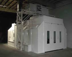 spray paint booth side downdraft auto paint booth col met efs