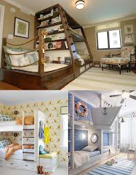 nautical theme bedroom this website has really cool kids room ideas http