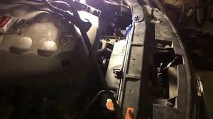 how to change radiator and fan 2005 infiniti g35 automatic youtube