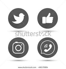 Telephone Icon For Business Card Social Media Icons Stock Images Royalty Free Images U0026 Vectors