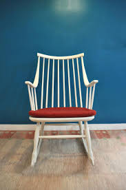 Teal Rocking Chair Rocking Chair By Lena Larsson For Nesto 1963 For Sale At Pamono